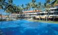 Hotellet har et stort og nydelig bassengområde