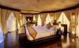 Soverommet i romkategorien Tented Pool Villa