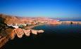 Shangri-La Barr Al Jissah Resort & Spa har en spektakulær beliggenhet