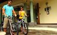 Sykkel er et anbefalt fremkomstmiddel på Seychellene. Hotellet leier ut sykler.