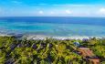 Manta Resort har 17 rom som ligger i hotellets hageanlegg og 1 undervannsrom som ligger 250 meter fra stranden.