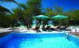 Beach Suitene har et basseng på 20 kvm