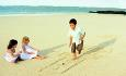 Mauritius er med sine langgrunne strender og barnevennlige hoteller et perfelt reisemål for barnefamilier