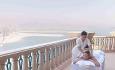 Hotellets Spa tilbyr også massage på hotellets rom og suiter. Dette er fra Bridge Suite