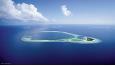 Constance Halaveli ligger ca 20 minutter med sjøflytransport fra flyplassen på Maldivene