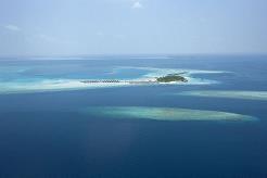 Constance Moofushi ligger ca 25 min med sjøfly fra flyplassen på Maldivene