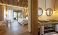 Beach Villaene har åpne typisk maldiviske baderom