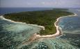 Øya Desroches er 6 km lang og 1 km bred