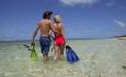 Det er fantastisk å kunne oppleve undervannslivet rundt øya med snorkel og dykkemaske