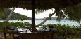 Strandrestauranten Cafe de Arts er en av de beste sjømatrestaurantene på Praslin