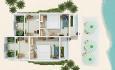 Floor plan deluxe beach villa