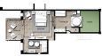 Floor plan over familierommene
