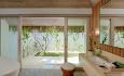 Grand Beach Pool Villa har de kjente maldiviske åpne baderommene.