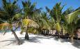 Jacuzzi Beach Villaene ligger rett ved stranden
