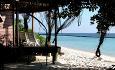 Beach Villaene har terrasse rett ut mot stranden