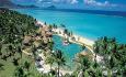 Hotellet har en fantatsisk beliggenhet rett ved den nydelige sandstranden Flic 'n Flac