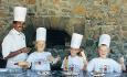 Hotellets populære barneklubb hvor det blant annet er kokkeskole for de minste
