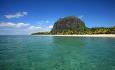 Vakre Le Morne ligger sør på Mauritius