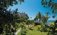 Hotellet har også et stort og flott hageanlegg