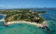 Le Cannonier har en flott beliggenhet på nordvestkysten av Mauritius