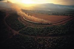 Rovos Rail går i ulike ruter i hele Sør-Afrika.