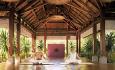 Det arrangeres daglige yoga- og pilatesklasser i hotellets spa.
