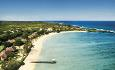Shanti Maurice er et elegant hotell som ligger ved en lang, vakker strand helt sør på Mauritius