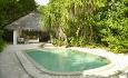 Soneva Fushi Villa med basseng