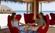 Også fra hotellets bar er det en fantastik utsikt utover det indiske hav