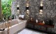 Villa de Charme har nydelige, åpne baderom