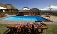 Hotellets svømmebasseng