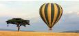Flere av lodgene i bpde Kenya og Tanzania tilbyr ballongferder
