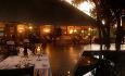 Restauranten ved Hamilton Tented Camp