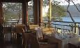 Det er nydelig utsikt fra Hilltop Restaurant
