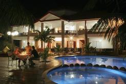 Le Duc de Praslin er et svært populært hotell