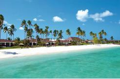 The Residence Zanzibar ligger rett ved ennydelig strand