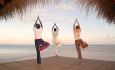 Hotellet tilbyr yogatimer